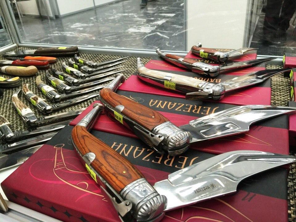 ножевая выставка арсенал