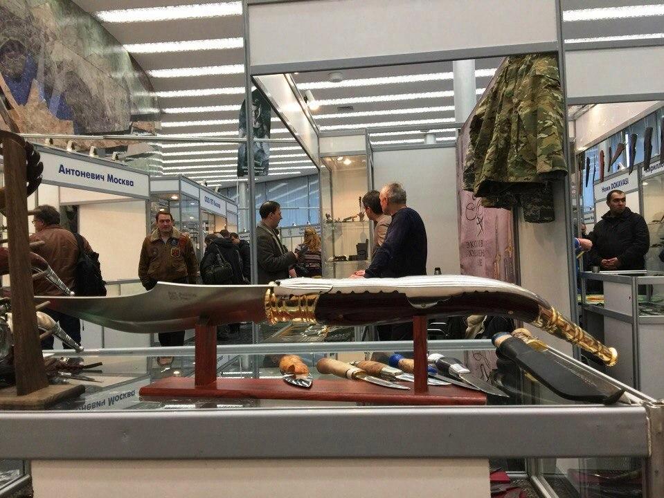 навахи на выставке арсенал