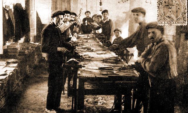 Мануфактура по изготовлению ножей Альбасете