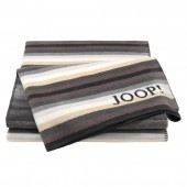 Плед Joop! Stripes 150x200 мм полосатый антрацит