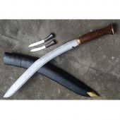 "Кукри Nepal Kukri House 36"" Buff Head Wooden Handle"